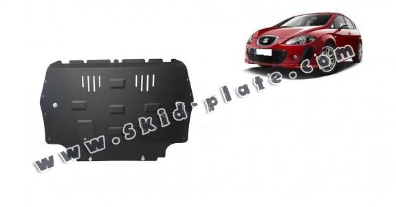 Steel skid plate for Seat Leon 2