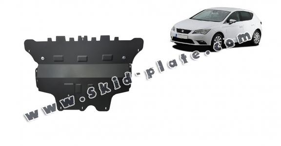 Steel skid plate for Seat Leon