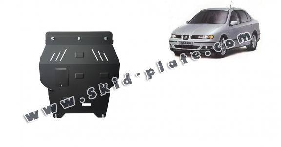 Steel skid plate for Seat Toledo 2