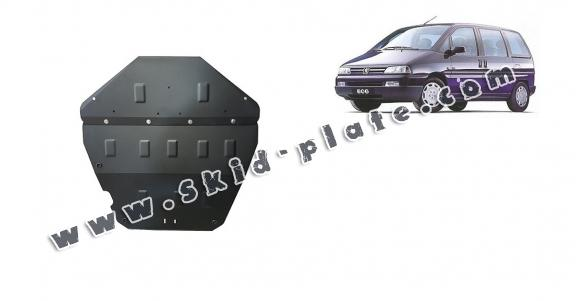 Steel skid plate for Peugeot 806