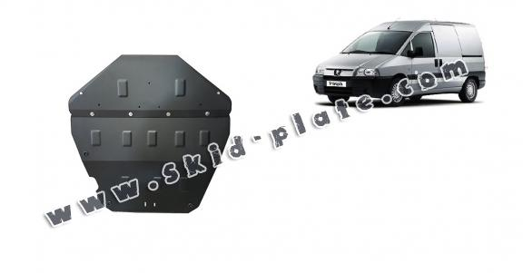 Steel skid plate for Peugeot Expert