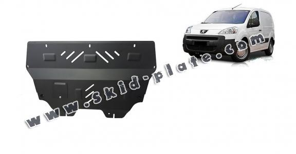 Steel skid plate for Peugeot Partner