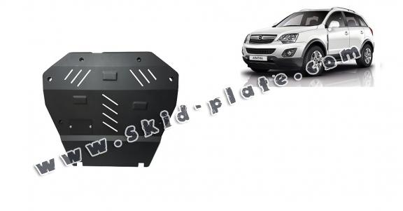 Steel skid plate for Opel Antara