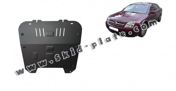 Steel skid plate for Opel Vectra C