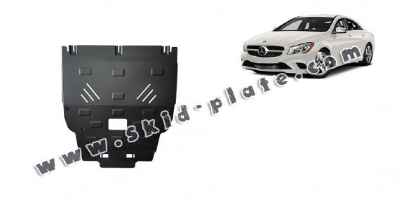 Steel skid plate for Mercedes A-Class W176