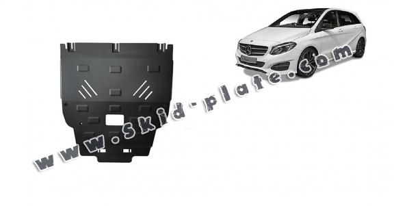 Steel skid plate for Mercedes B-Class W246