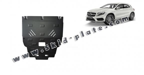 Steel skid plate for Mercedes GLA X156