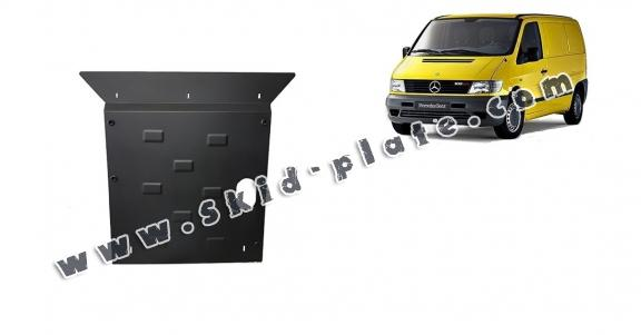 Steel skid plate for the protection of the engine and the gearbox for Mercedes Vito