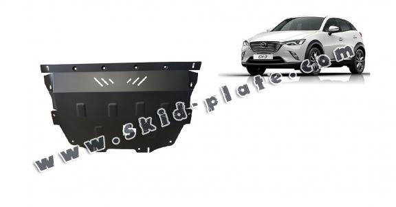 Steel skid plate for Mazda CX3