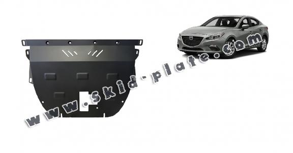 Steel skid plate for Mazda 3