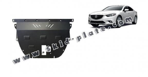 Steel skid plate for Mazda 6