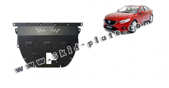 Steel skid plate for Mazda Atenza