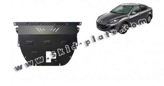 Steel skid plate for Mazda Axela