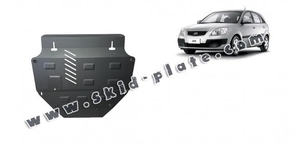 Steel skid plate for Kia Rio 2