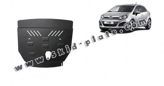 Steel skid plate for Kia Rio 3