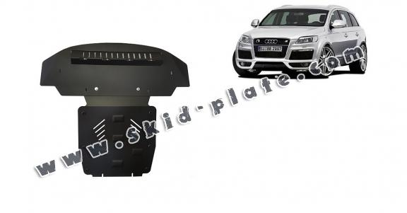 Steel skid plate for Audi Q7 S-Line