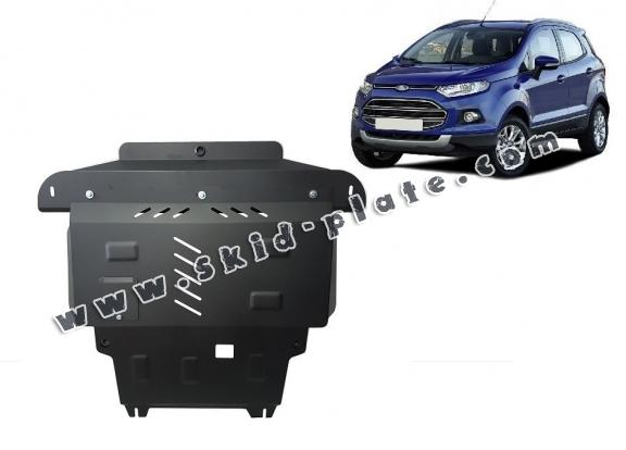 Steel skid plate for the protection of the engine and the gearbox for   Ford EcoSport