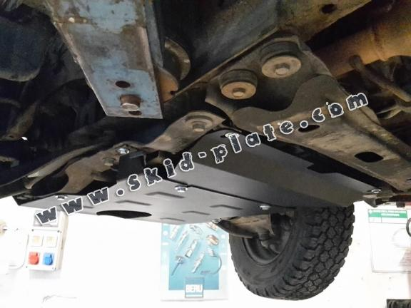 Steel gearbox skid plate for Daihatsu Terios