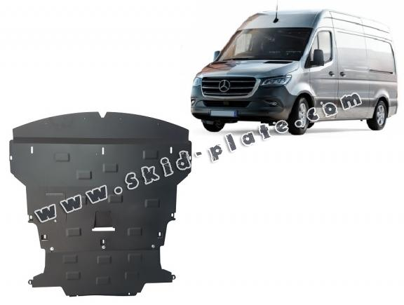 Steel skid plate for Mercedes Sprinter-FWD