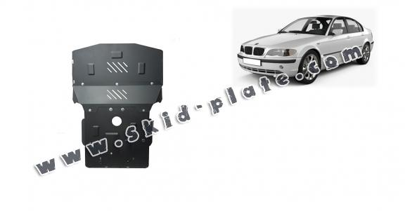Steel skid plate for BMW Seria 3 E46 - petrol