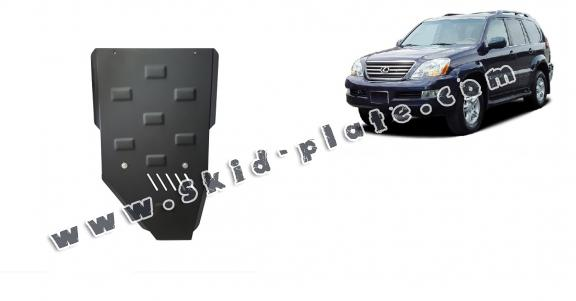 Steel gearbox skid plate for Lexus GX