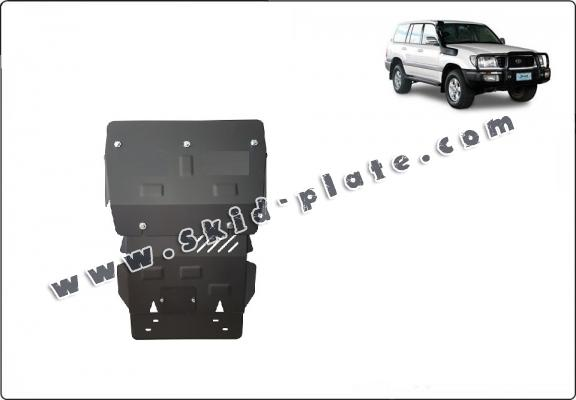 Steel skid plate for Toyota Land Cruiser J100
