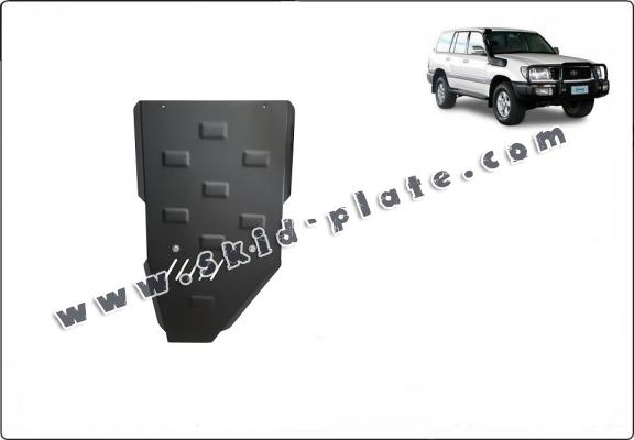 Steel gearbox skid plate for Toyota Land Cruiser J100