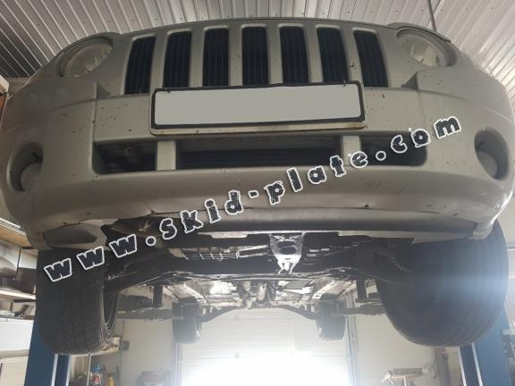 Steel skid plate for Jeep Compass