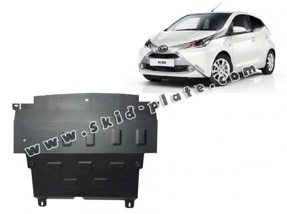 Steel skid plate for Toyota Aygo AB40