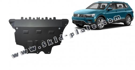 Steel skid plate for Vw Tiguan