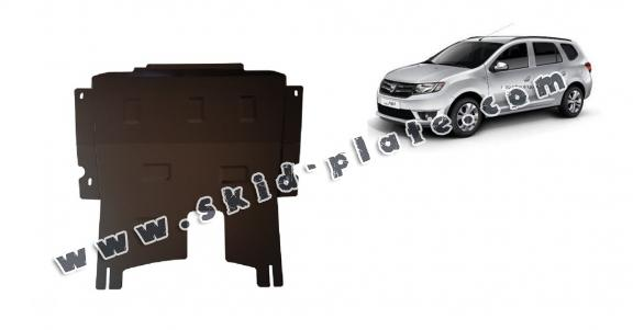 Steel skid plate for Dacia Logan MCV