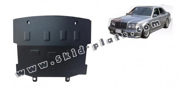 Steel skid plate for Mercedes E-Classe W124