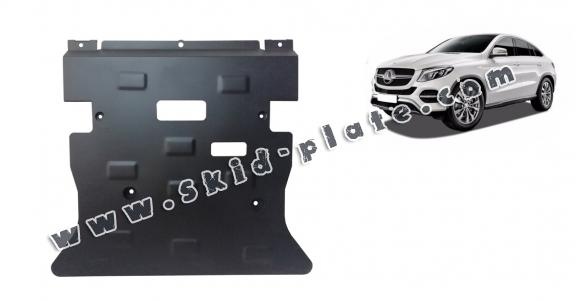 Steel skid plate for Mercedes GLE Coupe C292