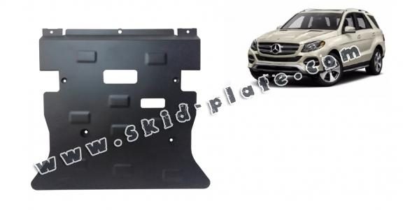 Steel skid plate for Mercedes GLE X166