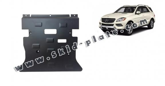Steel skid plate for Mercedes ML W166