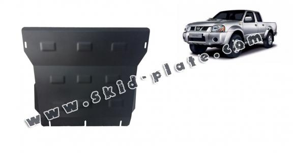 Steel skid plate for the protection of the engine and the radiator for Nissan Pick Up