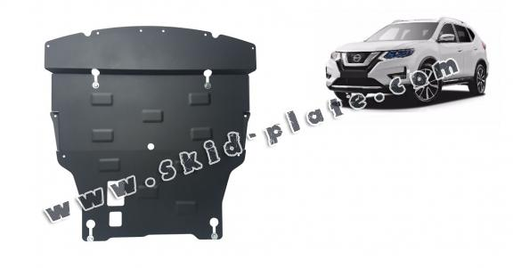 Steel skid plate for Nissan X-Trail T32