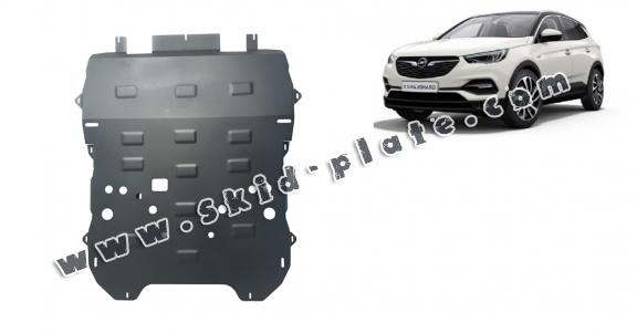 Steel skid plate for Opel Grandland X