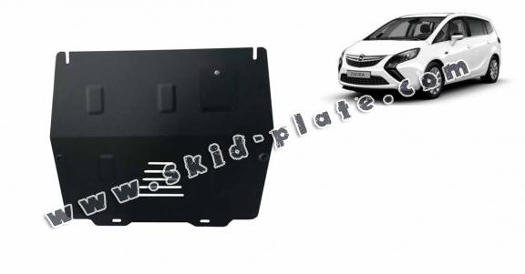 Steel skid plate for Opel Zafira C
