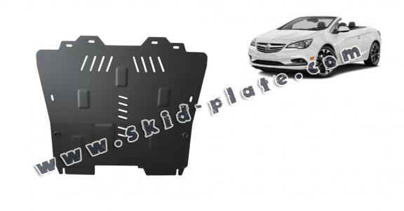 Steel skid plate for Oplel Cascada