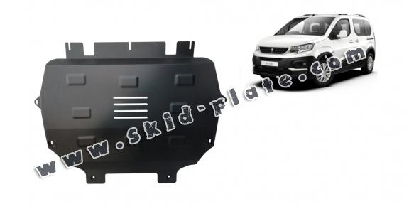 Steel skid plate for Peugeot Rifter
