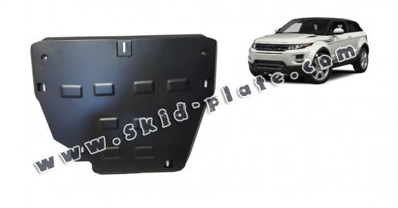 Steel skid plate for Range Rover Evoque
