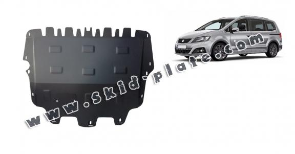 Steel skid plate for Seat Alhambra