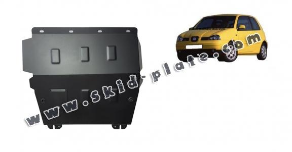 Steel skid plate for Seat Arosa