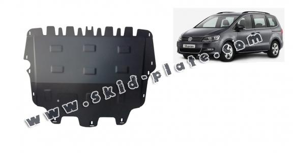 Steel skid plate for Volkswagen Sharan