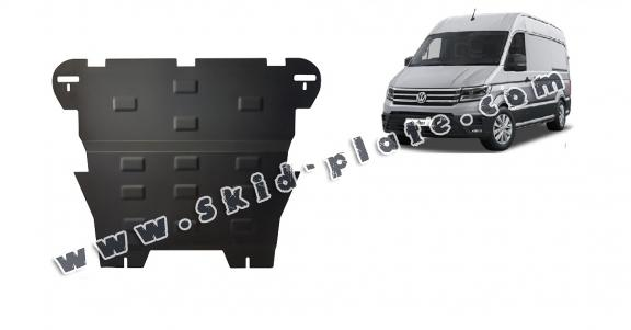Steel skid plate for Vw Crafter