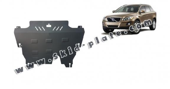 Steel skid plate for the protection of the engine and the gearbox for Volvo XC60