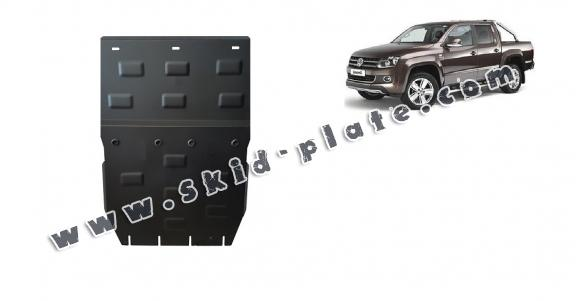 Steel skid plate for Volkswagen Amarok