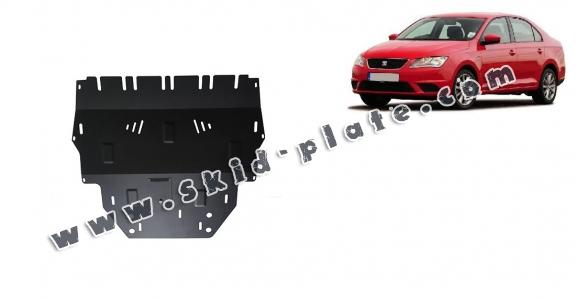 Steel skid plate for Seat Toledo 4