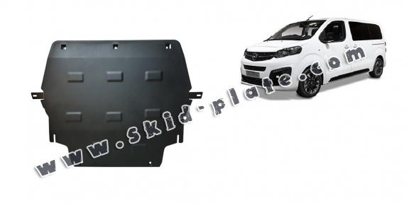 Steel skid plate for Opel Zafira Life